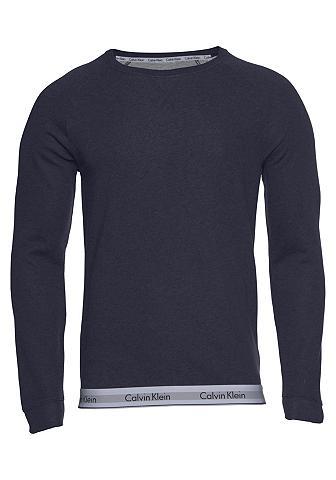 CALVIN KLEIN Sportinio stiliaus megztinis iš švelnu...