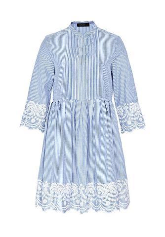 HALLHUBER Dryžuota suknelė su Spitzensäumen