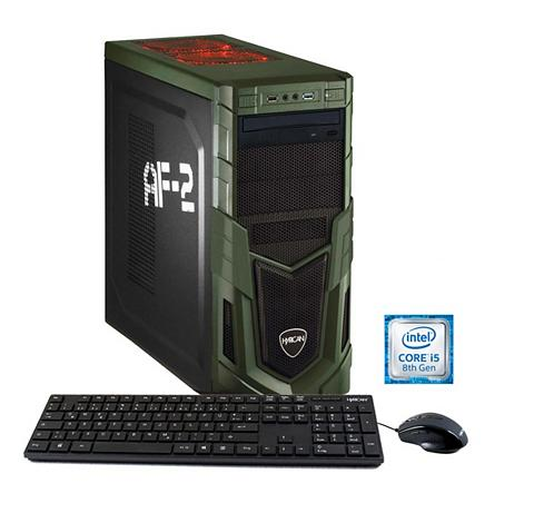 HYRICAN Žaidimų PC Intel® i5-8400 8GB SSD + HD...