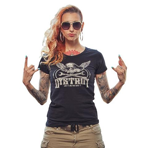 DYSTROY Marškinėliai »BAD KITTY«