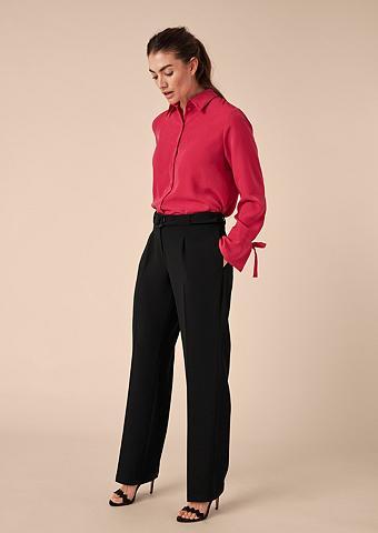TRIANGLE Dalykinės kelnės iš krepo
