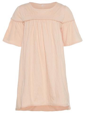 NAME IT Strukturiertes A-formos suknelė