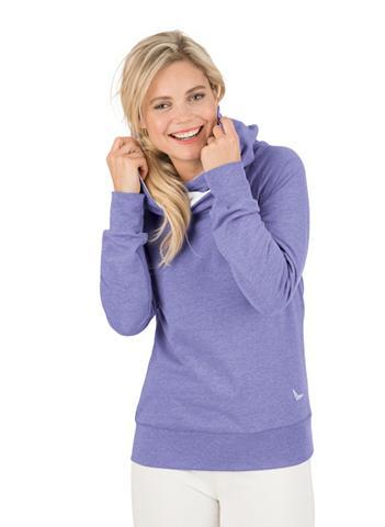 TRIGEMA Sportinis megztinis su gobtuvu