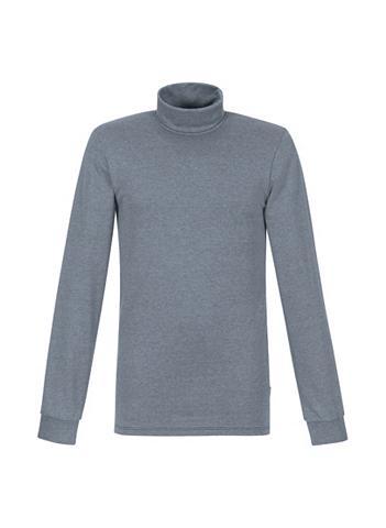 TRIGEMA Melange Ilgomis rankovėmis marškinėlia...