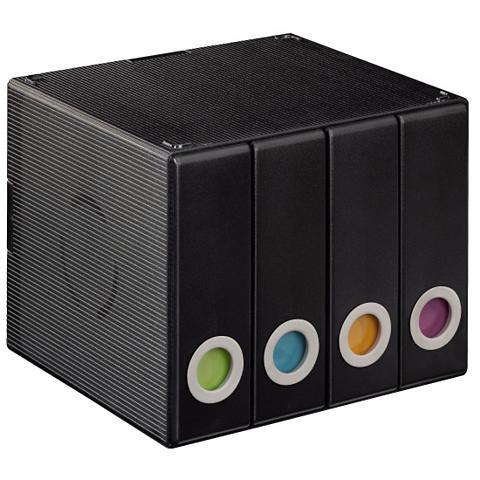 HAMA CD-/DVD-/ dėžutė 96 Transparent/Schwar...