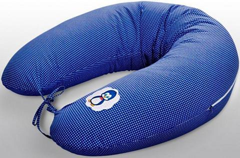 SEI DESIGN Žindymo pagalvėlė »Pinguin jeansblau«