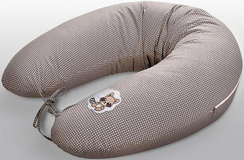 SEI DESIGN Žindymo pagalvėlė »Waschbär taupe«