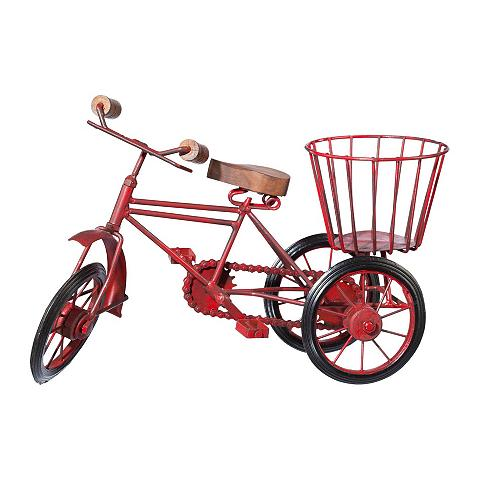 Dekoracija »Fahrrad rot«