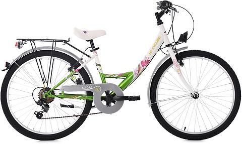 KS CYCLING Jaunimo dviratis »Papilio« 6 Gang Shim...
