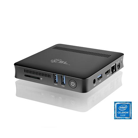 CSL Silent Mini PC - lautlos WLAN 4GB RAM ...