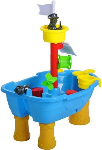 KNORR TOYS Smėlio žaislų rinkinys »Sandtisch Pira...