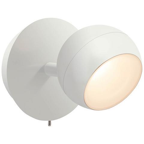 BRILLIANT LEUCHTEN Inova LED Wandspot su Schalter weiß ma...
