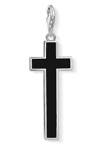 THOMAS SABO Pakabukas »Schwarzes Kreuz Y0020-024-1...