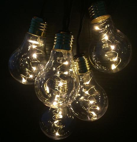 LED šventinės lemputės