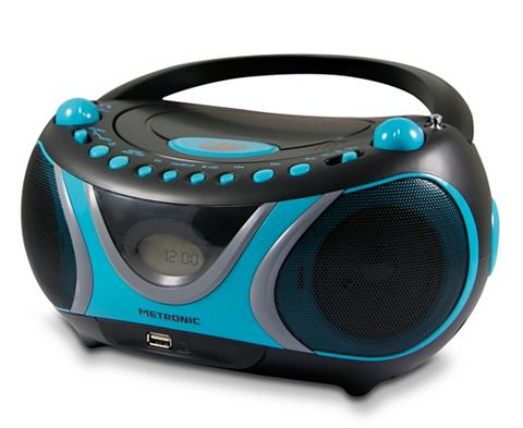 Metronic CD-MP3-Radio Boombox CD Player USB lai...