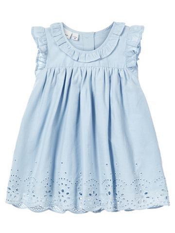 NAME IT Siuvinėtas Baumwoll suknelė