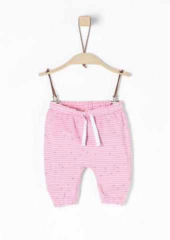 S.OLIVER RED LABEL JUNIOR Gerüschte Herzchen-Leggings dėl Babys