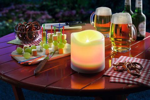 ESOTEC Šviestuvas su saulės baterija »Candle ...