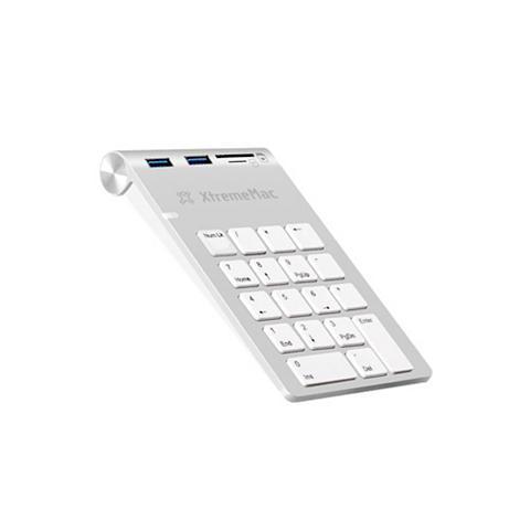 XTREMEMAC Bevielė skaičių klaviatūra »HUB 2 USB ...
