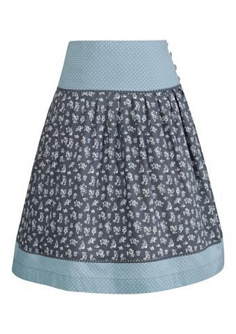 Tautinio stiliaus sijonas su iš šono s...