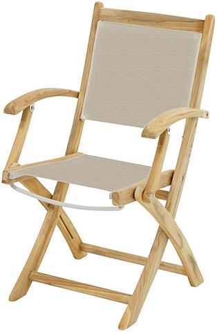 PLOSS Poilsio kėdė »Richmond« Textil/Teak kl...