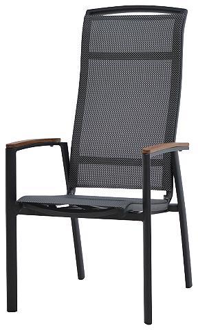 PLOSS Poilsio kėdė »Tobago« Textil/Teak stap...