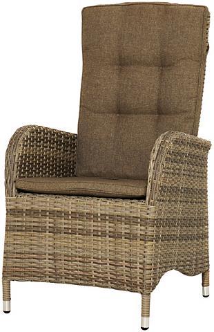 PLOSS Poilsio kėdė »Rabida« Polyrattan kočėl...