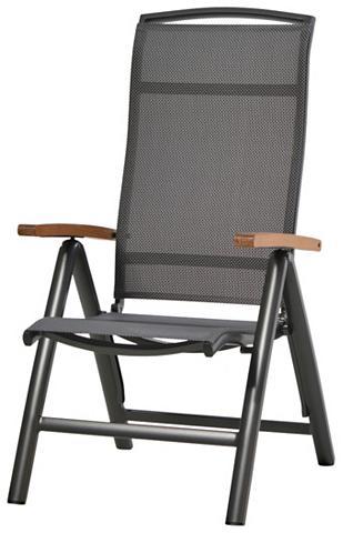 PLOSS Poilsio kėdė »Tobago« Textil/Alu klapp...