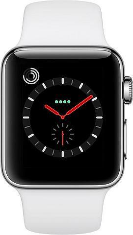 APPLE Watch Series 3 GPS + Cellular Edelstah...