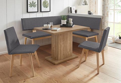 Kampinis virtuvės suolas su kėdėmis »Z...