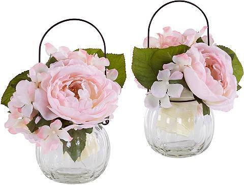 Dirbtinis augalas »Rosen im Glas« (Rin...