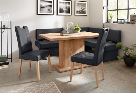 Kampinis virtuvės suolas su kėdėmis »T...