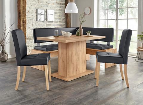 Kampinis virtuvės suolas su kėdėmis »K...