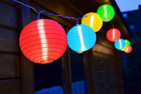 LED šventinės lemputės 15 -flammig
