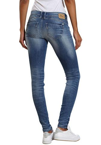 GANG Skinny-fit-Jeans »NENA« su stilingas W...