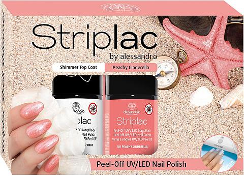 ALESSANDRO INTERNATIONAL »Striplac Shimmer Shell« Nagų dailės r...