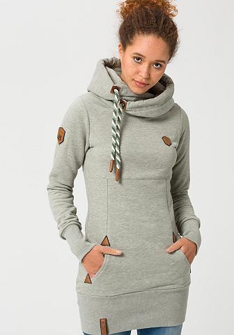 NAKETANO Sportinis megztinis su gobtuvu »Lange«...