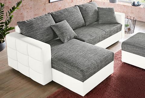 RAUM.ID Kampinė sofa su miegojimo funkcija ir ...