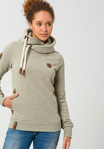 NAKETANO Sportinis megztinis su gobtuvu »Darth«...