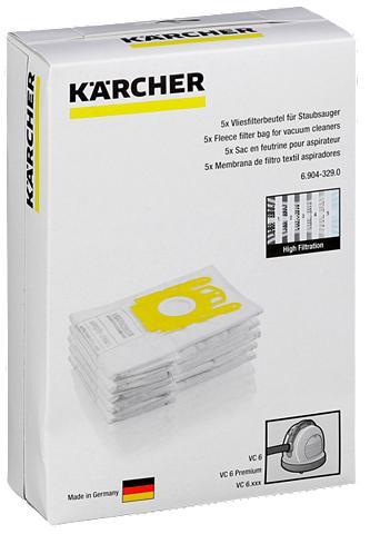 KÄRCHER Kärcher Valymo priedai »Vliesfilterbeu...
