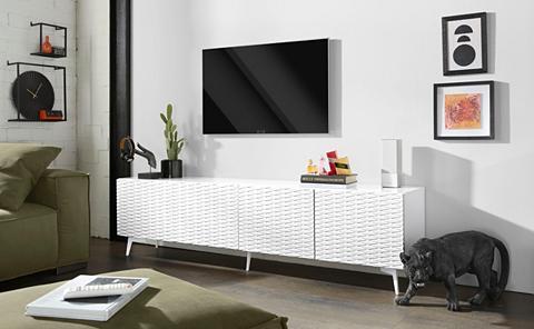 BRUNO BANANI TV staliukas »Design 4« su 3D-Fronten ...