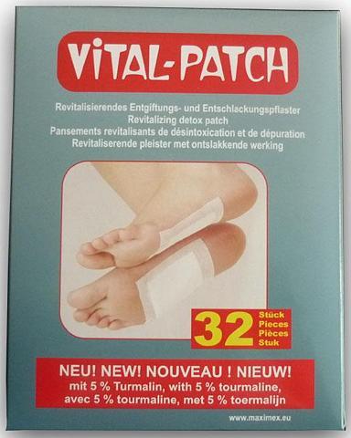 MAXIMEX Fußpflaster Vital Patch Fußpflaster 92...
