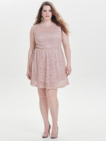 ONLY CARMAKOMA Curvy Spitzen suknelė be rankovės