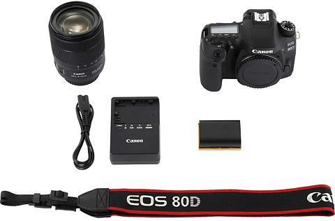 CANON »EOS 80D + 18-135mm IS USM« Veidrodini...