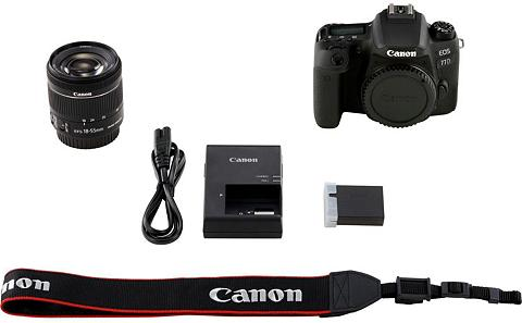 CANON »EOS 77D + EF-S 18-55mm 1:4-56 IS STM«...