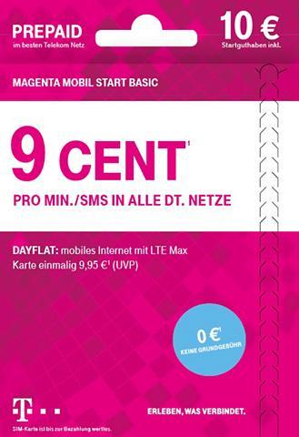 TELEKOM Prepaid plokštė »Mobil Start Basic 10?...