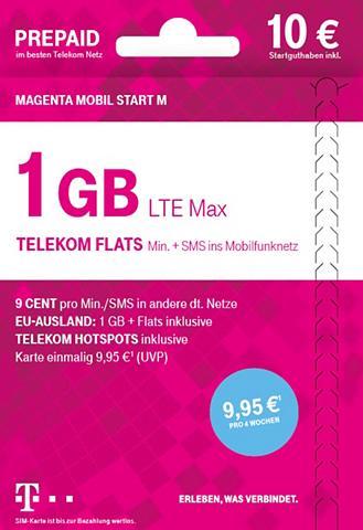 TELEKOM Prepaid plokštė »Mobil Start M 10? SGH...
