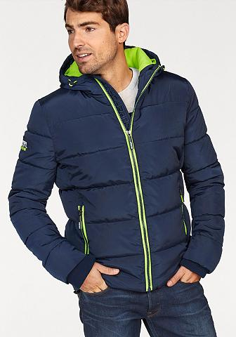 SUPERDRY Dygsniuota striukė »SPORTS PUFFER GILE...