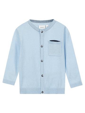 NAME IT Ilgomis rankovėmis marškinėliai megzta...