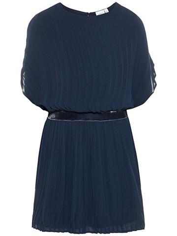 NAME IT Plisuotos žaliuzės suknelė